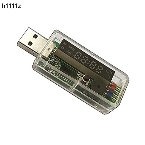 Computer Cables WiFi Mobile Remote Watchdog Card V9.0 Computer LED Screen Automatic Halted Auto Restart USB Watchdog for Gaming Mining BTC Miner Cable Length: 50cm, Color: No WiFi no case