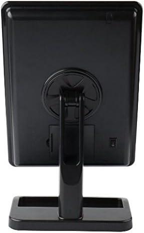 Bianca Eplze Creativo Multi-funzionale Specchio per il Trucco Leggero LED Lampada da Scrivania Sensibile al Tocco Protezione per Gli Occhi Lampada da Scrivania