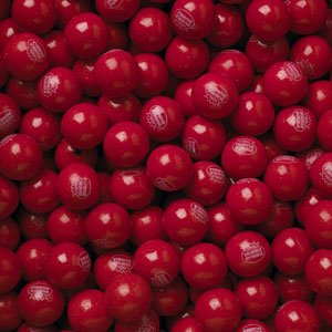 Hot Chewing Gum - Concord Hot Chew Cinnamon Bubble Gum Balls 3 Lb (1