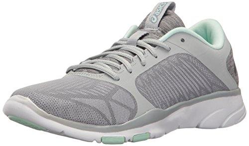 clearance 100% original ASICS Women's Gel-Fit Tempo 3 Cross-Trainer Shoe Mid Grey/Silver/Bay free shipping lowest price free shipping visit q7dGJ6