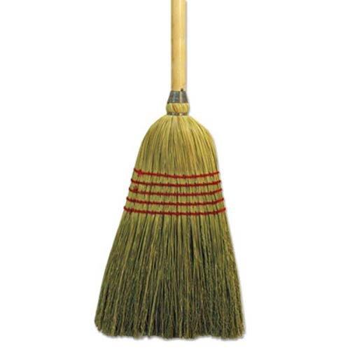 Unisan 926YEA Parlor Broom, Yucca/Corn Fiber Bristles, 42