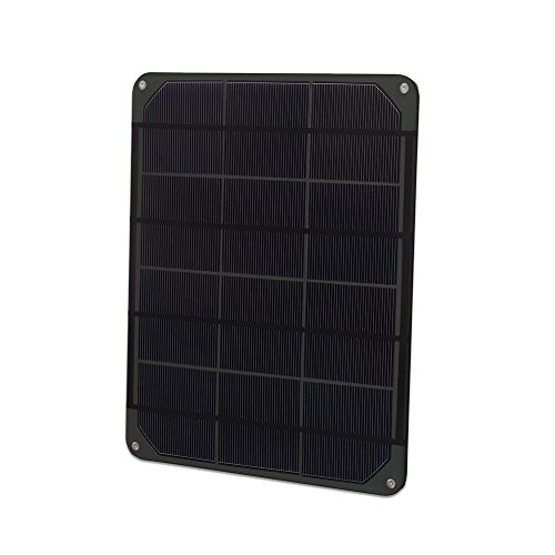 Voltaic Systems Small Solar Panel 6W/6V - Charcoal | Panel Made with High Performance Monocrystalline Cells | Waterproof, UV and Scratch-Resistant by Voltaic Systems