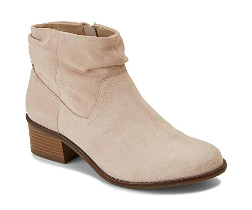 Vionic Women's Hope Kanela Boot - Ladies Bootie with Concealed Orthotic Arch Support Nude 7.5 W US