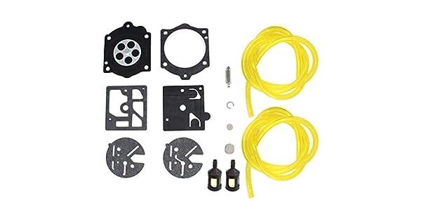 C/·T/·S Kit de reparaci/ón y reconstrucci/ón de carburador sustituye a Walbro K10-HDB