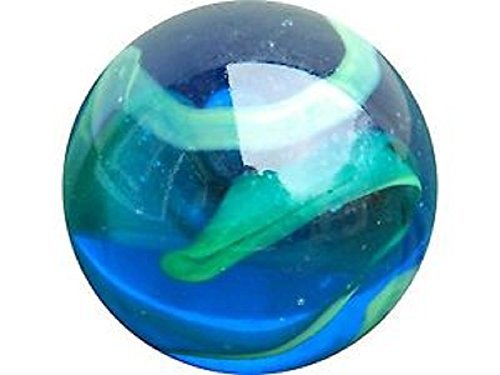 Enormous Glass ''Sea Turtle'' Marble - 50mm