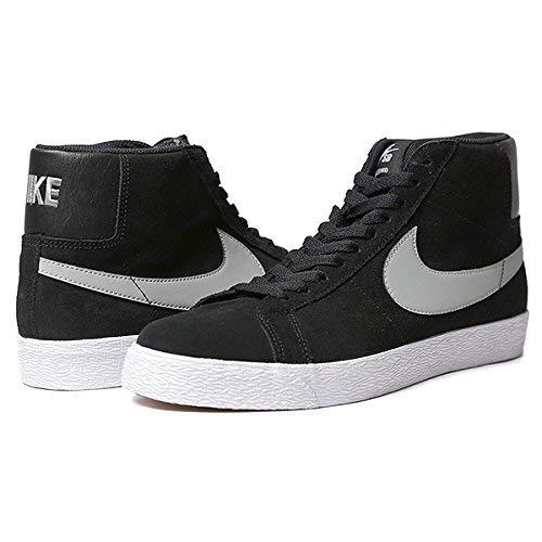 Nike Men's Blazer Sb Premium Se Base Grey/Black/White Skate Shoe9