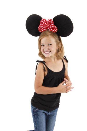 Minnie Ear Hat - Disney Oversized Minnie Ears Headband