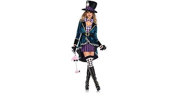 XYFW Disfraz De Sombrerera Encantadora Legter Leg Avenue ...