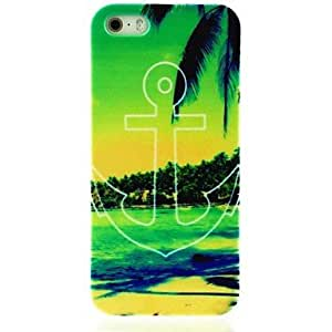 SOL Summer Beach Anchor Pattern Hard Case for iPhone 5/5S