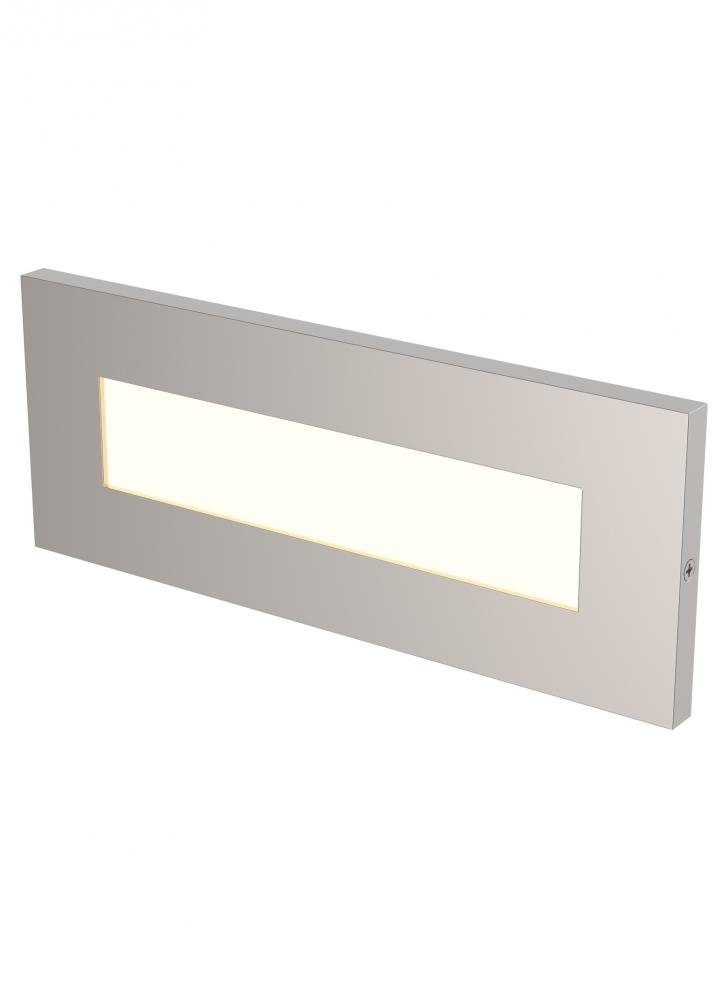 Vitra Horizontal LED Brick Turtle Light Satin Ni