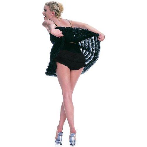 Ruffle Back Rhumba Panty Costume Underwear - Small/Medium - Dress Size 4-8