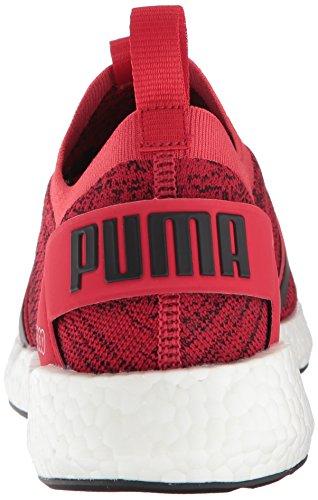 puma Puma puma Neko 191097 PUMAPUMA Herren Red NRGY Strickoptik Ribbon Chopper Black White waP6Faqf