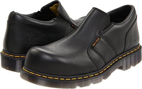 Dr. Martens Men's Resistor ST ESD Steel Toe Shoe,Black,6 UK/7 M US -