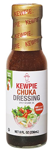 Kewpie Spicy Sesame Oil Salad Dressing, Chinese Style, 8 Ounce (Pack of 2)