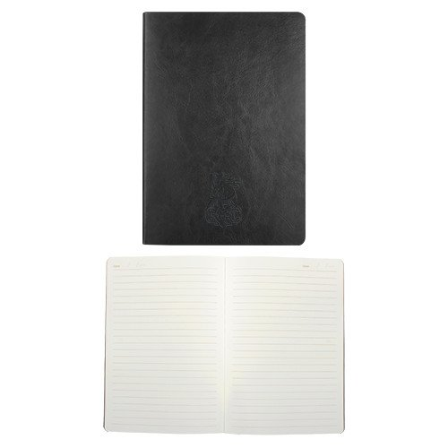 Georgia Highlands Fabrizio Black Soft Cover Journal 'Charging Horse GHC (Highland Notepad)