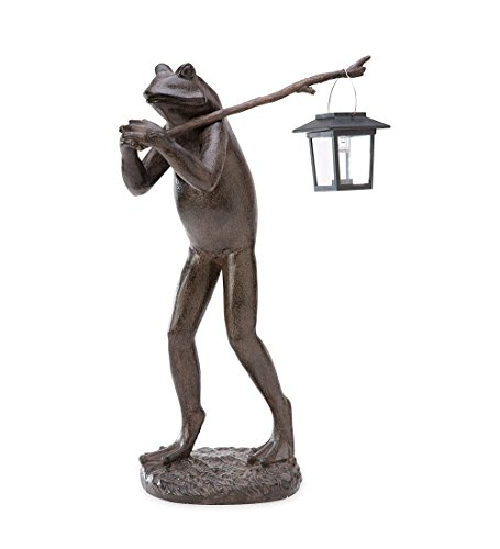 Walking Frog with Solar Lantern (Frog Candle Lantern)