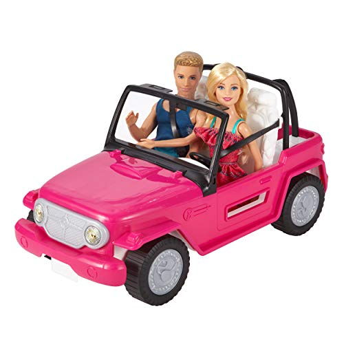 Barbie Beach Cruiser & Ken Doll (Amazon Exclusive)