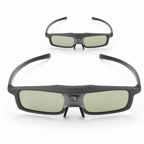 2x SainSonic 144Hz Universal 3D DLP-Link IR Active Shutter Rechargeable Glasses
