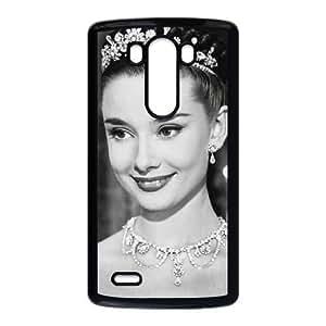 LG G3 phone case Black Audrey Hepburn FFFP2667091