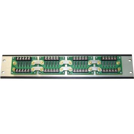 Power Dist Panel (DuraComm - DBRM-10-75 - DBRM Series Power Distribution Panel, 10 positions, 75A max per panel, 20A max per fuse)