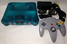 Nintendo 64 Atomic Blue System