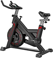 Exercise Bike, Quiet Indoor Stationary Bike for Beginner And Professionals, Portable Adjustable Cycling Bike w