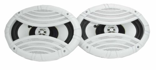 "2) VM Audio EXS692M 6x9"" 400 Watt 2 Way Waterproof Marine Boat Speakers Pair"