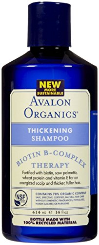 Avalon Biotin Thickening Shampoo (Avalon Organics Biotin B-Complex Thickening Shampoo - 14 oz)