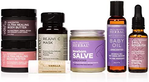 Amazon.com: Regalo natural para mamá y bebé, aceite corporal ...