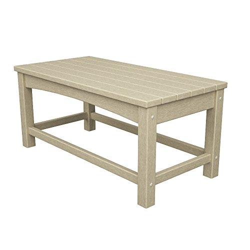 - POLYWOOD CLT1836SA Club Coffee Table, Sand