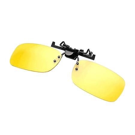 Gafas Vision Nocturna Clip De Conducci/ón De Autom/óviles Gafas De Sol Sombrilla Antideslumbrante Antideslumbrante Luz Alta D/ía Y Noche Luz Fuerte Gafas De Conducci/ón Con Estuche Y Gafas Pa/ño