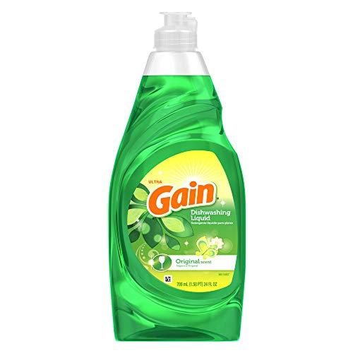 (Gain Ultra Dishwashing Liquid, Original Scent - 24 Fl. Oz.)