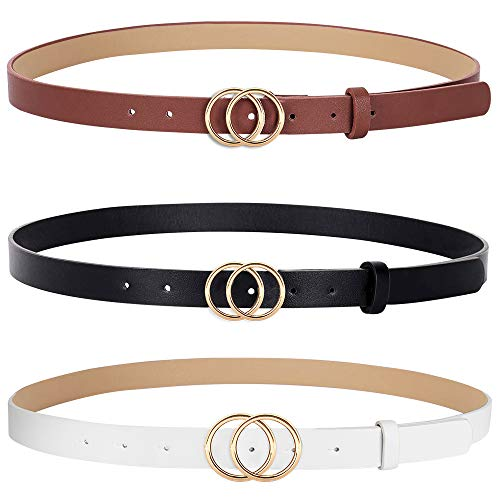 Hicdaw 3PCS Women Leather...