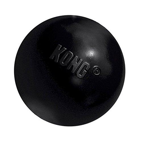 KONG Extreme Ball Dog Toy - Small, Black