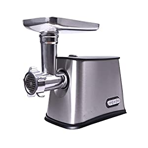 Electric Meat Grinder, 250W Food Grinder with 3 Cutting Plates Sausage Maker For Commercial Home Food Mincer