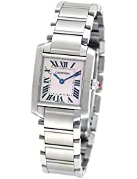 Womens W51028Q3 Tank Francaise Pink Mother of Pearl Watch · Cartier