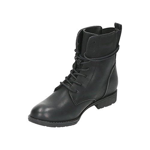 Jumex Women's Biker Boots Black NOfalz