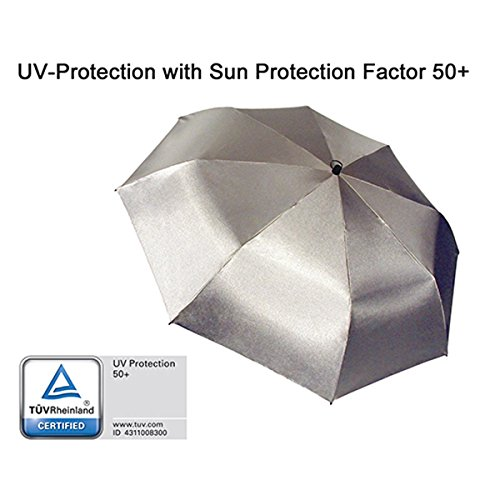 (EuroSCHIRM Swing Handsfree Umbrella (Silver))