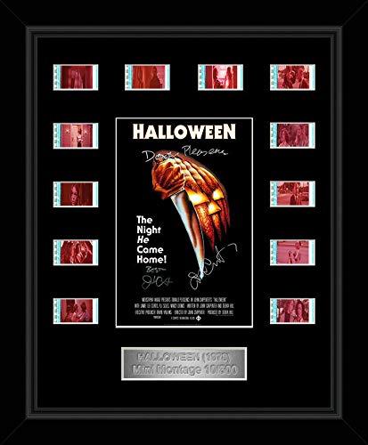 Halloween Cast Signed Original 35mm filmcell