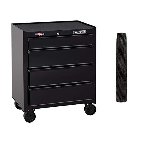 [해외]CRAFTSMAN Tool Cabinet 26-Inch 4 Drawer Black (CMST82765BK) (Renewed) / CRAFTSMAN Tool Cabinet, 26-Inch, 4 Drawer, Black (CMST82765BK) (Renewed)
