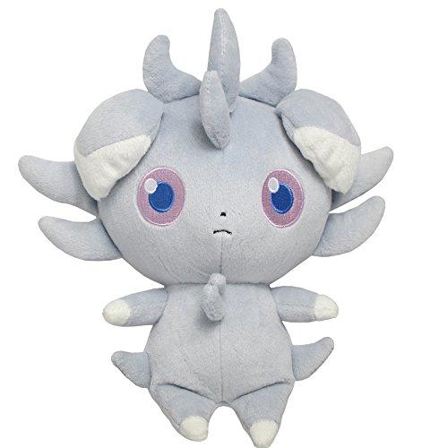 Sanei Pokemon All Star Series Espurr Stuffed Plush, 7