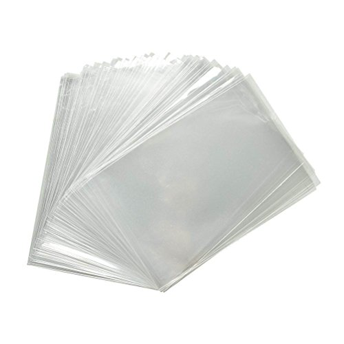 100 Pcs 6x9 Clear Cellophane Bags - 1.2 MIL Glossy Cello Bag For Gifts, Food, Soap, Candles and Bakery Goods - By Priti Parti by Priti Parti