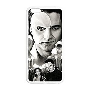 Laser Technology Phantom of the Opera Personalized Design TPU Case Cover with Picture for iPhone 4 4s