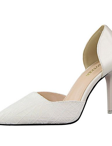 tacchi Heel 5 Ggx tallone Blu Eu38 Oro 5 Blu scarpe Argento Donna poliuretano Scarpe us7 casual Cn38 Bianco nero Rosa Uk5 Ago wTwCzPxO