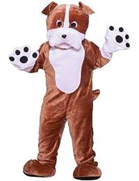 Forum Deluxe Plush Bulldog Mascot Costume