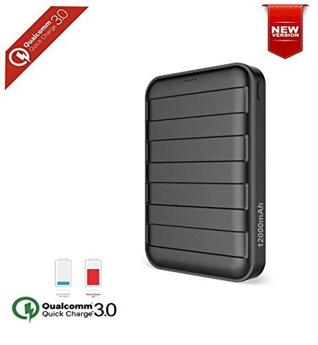 Qualcomm Portable 12000mAh External Smartphone