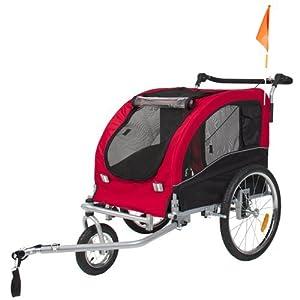Skiiddii Foldable Dog Stroller/Pet Bicycle Trailer Bike Trailer Dog Trailer Click on image for further info.