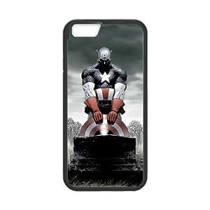 iPhone 6 Plus 5.5 Inch Phone Case International Raw Captain America Designed Q1QT500339