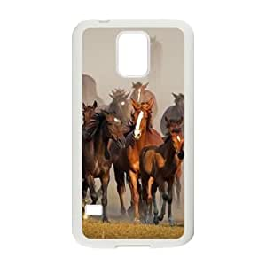 Horse DIY Hard Case for SamSung Galaxy S5 I9600 LMc-80341 at LaiMc