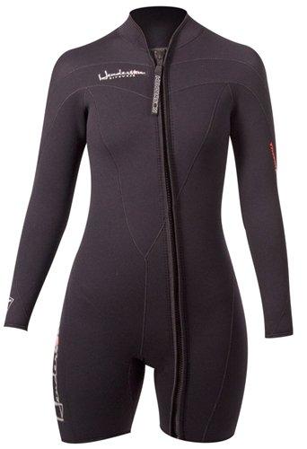 Henderson Woman Thermoprene Long Sleeve Shorty / Jacket (Front Zip) 3mm Scuba Wetsuit-8